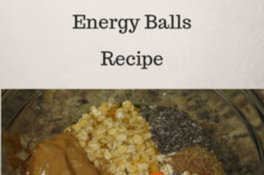No Bake Monster Cookie Fiber Energy Balls