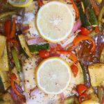 Mediterranean cod bake