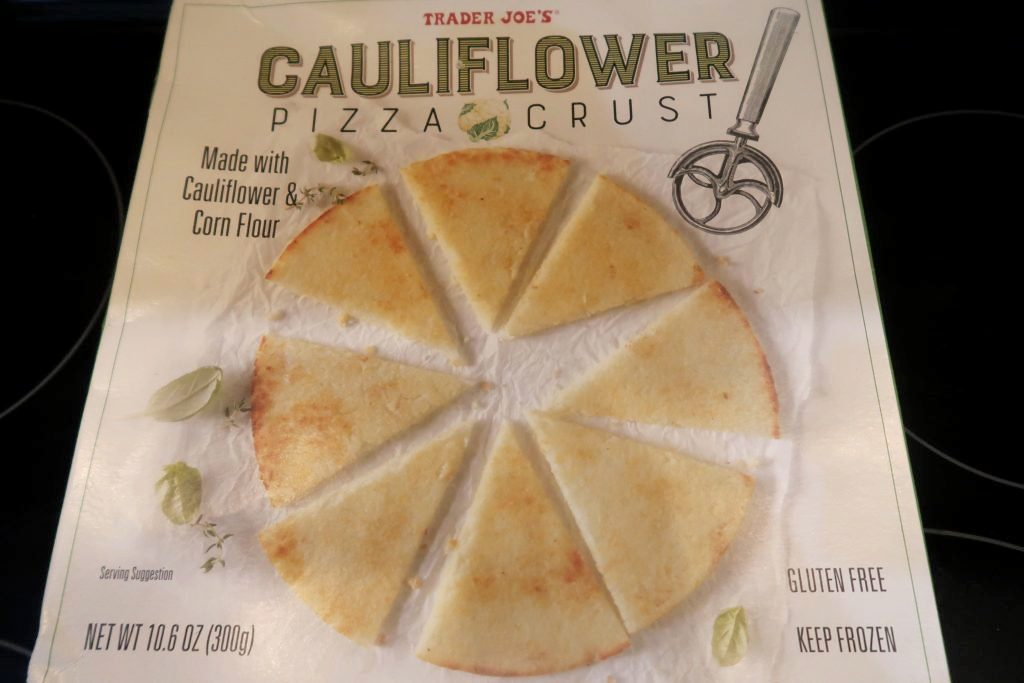 trader joe's cauliflower pizza, Trader Joe's Cauliflower Pizza Review, Alexis D Lee