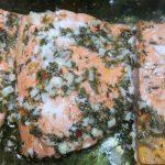 lemon garlic baked salmon, Lemon Garlic Baked Salmon, Alexis D Lee