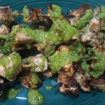 Grilled Chicken with Chimichurri Sauce, Grilled Chicken with Chimichurri Sauce, Alexis D Lee
